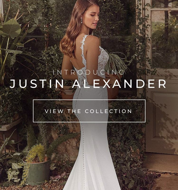 Justin Alexander at Breathless Bridal located in South Ridgetop, TN. Mobile image.