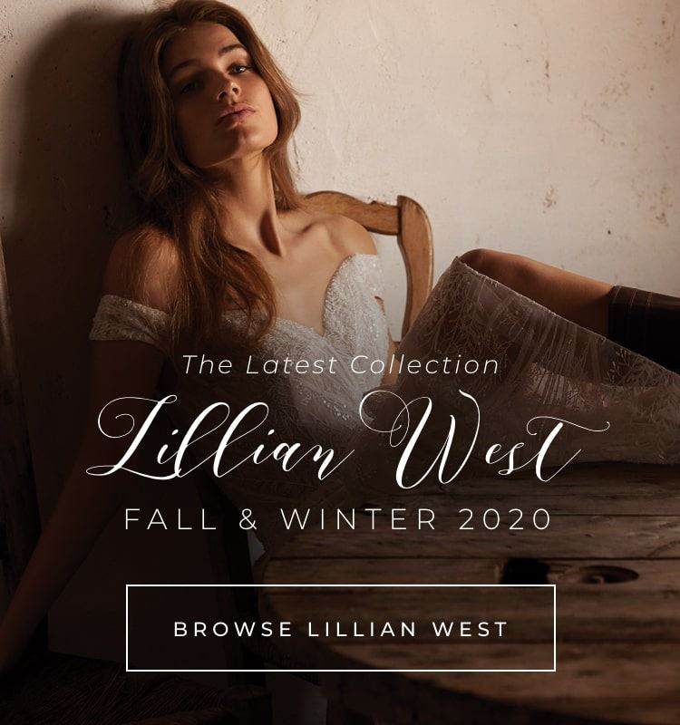 Lillian West banner to announce the fall/winter collection